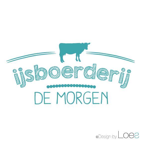 ontwerp logo ijsboerderij de morgen montfoort