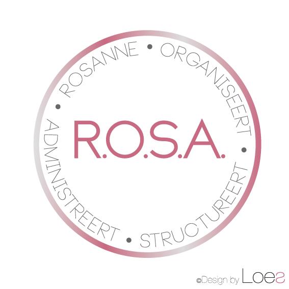 ontwerp logo ROSA rosanne kromwijk bodegraven