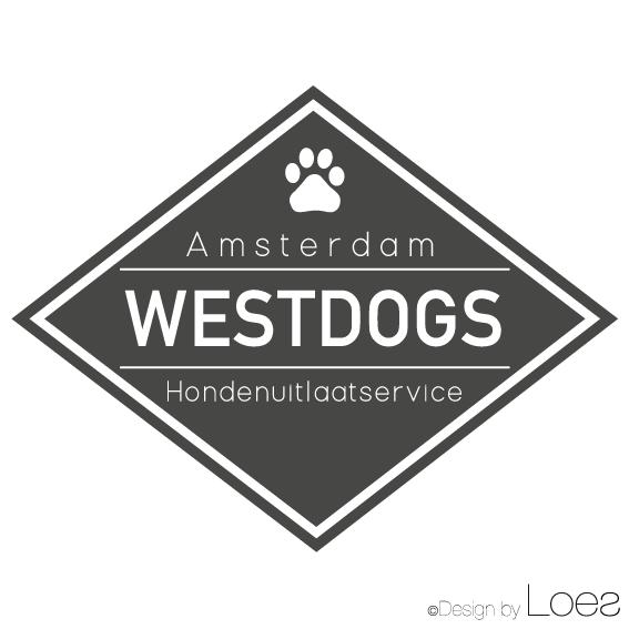 ontwerp logo hondeuitlaastservice westdogs amsterdam